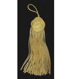 Metallic Bullion Tassel # F19
